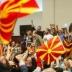 Протестующие взяли штурмом парламент Македонии и атаковали оппозицию