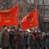 Нацгвардия в Кривом Роге прошла маршем под советскими флагами: соцсети шокированы