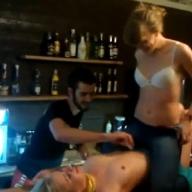 Секс на стойке в одессе видео
