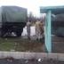 Грузовик Нацгвардии врезался в остановку: погиб человек