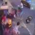 Пострадал и украинец: появилось жуткое видео наезда такси на толпу в Москве