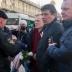В центре Минска  прошли массовые задержания